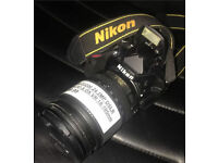 Nikon D3200 DSLR CAMERA - 18-105mm Nikkor AF-S DX LENS