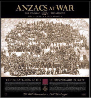 ANZACS AT WAR Victoria Cross Edition Ltd Ed Print & Medal