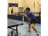 Table Tennis/Ping Pong Training