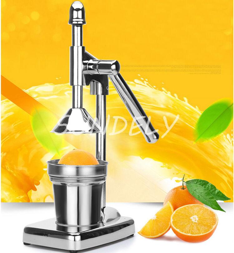 Orange Lemon Juicers ~ Orange hand press commercial pro manual citrus fruit lemon