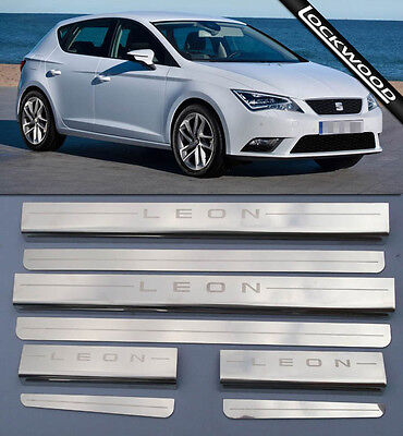 Seat Leon Mk3 (2013 to present)  Sill Protectors