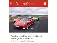 4 Supercar blast - Virgin Experience