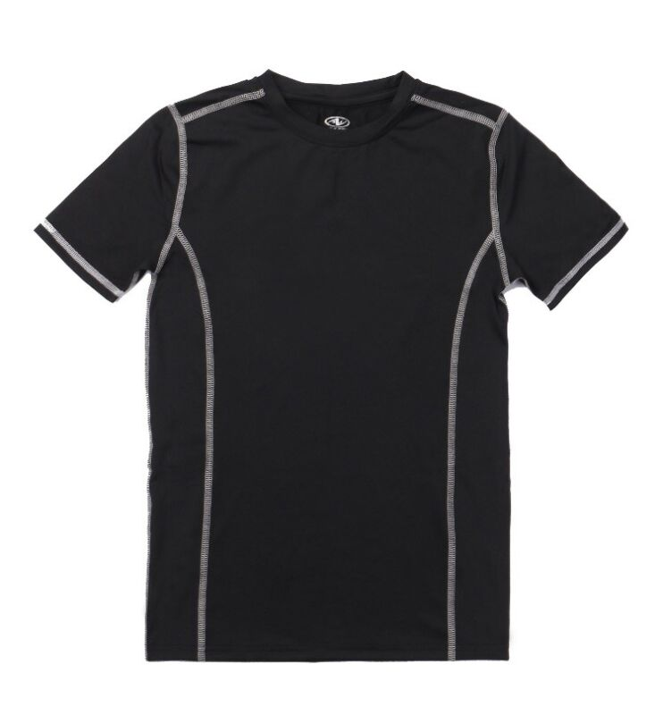 Athletic Works Youth Short Sleeve Compression Shirt Size L (10-12) Wicking