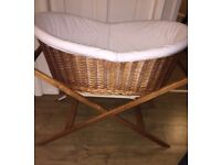 SilverCross HoneyPot Bassinet/Moses Basket