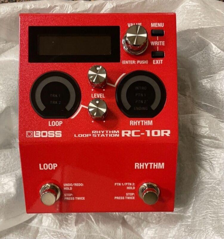 boss rhythm loop station RC10R