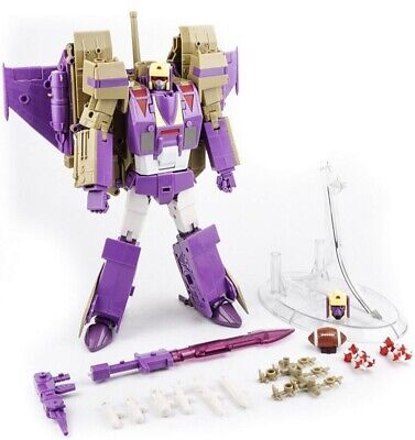 New Transformers Transformers KFC Toys EAVI METAL Ditka Blitzwing MP Scale