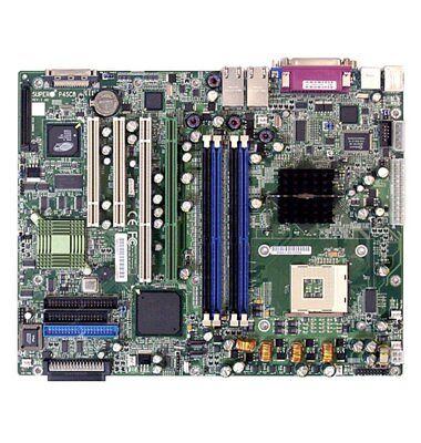 SUPERMICRO P4SC8 MOTHERBOARD MPGA478 2 GIGABIT LAN PORTS & VIDEO - (Gigabit Motherboard)