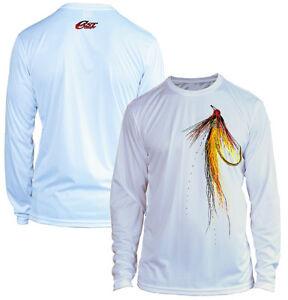 Microfiber Long Sleeve Fly Fishing Shirt Upf 50 Firefly