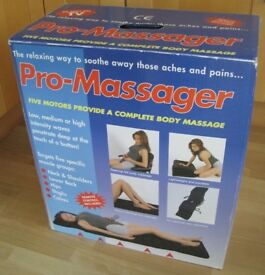 Pro massager vibrating long cushion with remote control