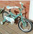 "Kids Bike -Apollo Sparkle 16"" Wheel, 10""Steel Frame, Removable Stabilisers"