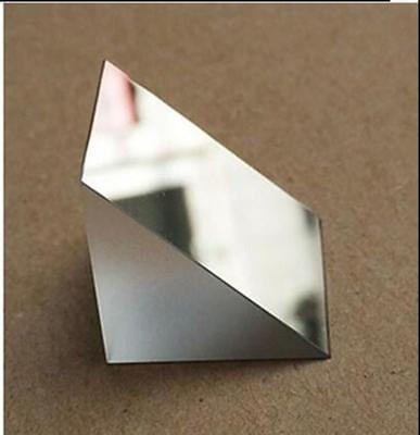 2pcs 25x25x25mm K9 Optical Glass Right Angle Slope Reflecting Prism S