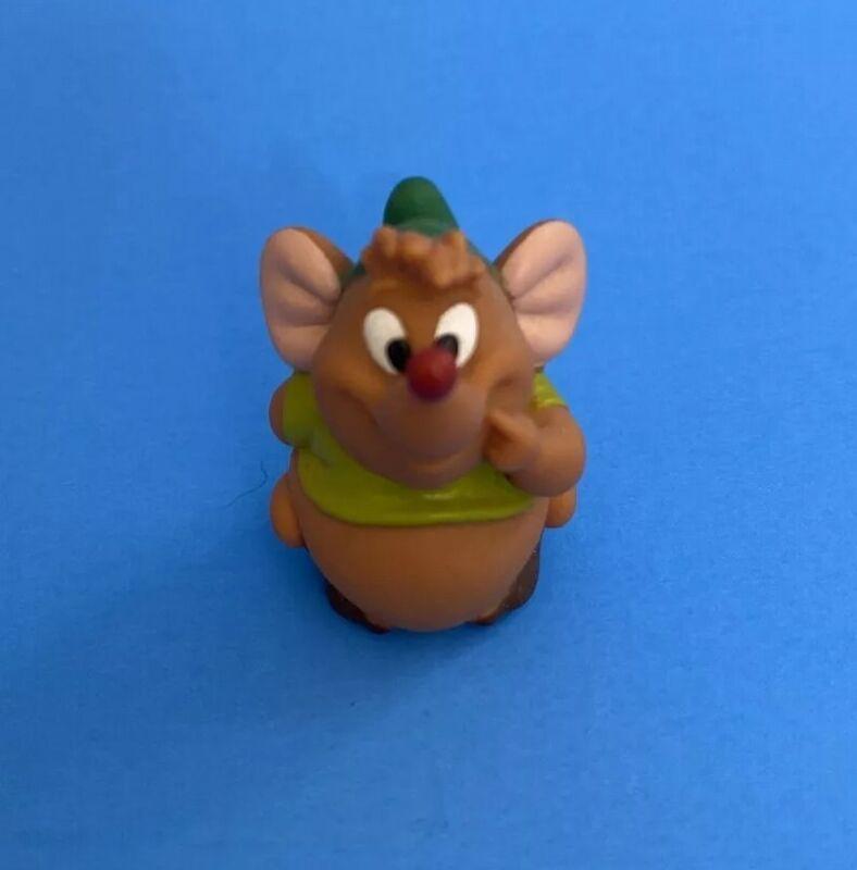 Disney Cinderella Miniature Gus Gus Mouse Rubber Figure - Miniature rubber toy