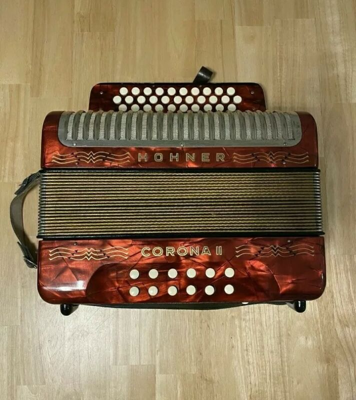 Hohner Corona 2 II Button Accordion German Version