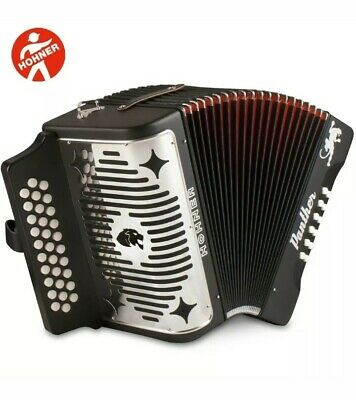 Hohner Panther Diatonic Accordion - Keys FBbEb *En tono de FA *Nuevo*