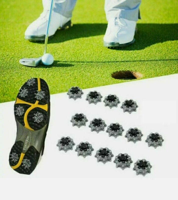 28x Replacement Soft Fast Twist Studs Tri-Lok Golf Shoes Spike Pins For Footjoy