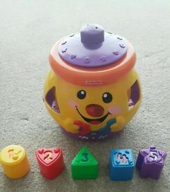 Fisher price shape sorter cookie jar