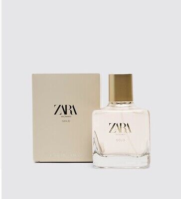 💃🏽 Zara Women Perfume Gold 100ml ( Sealed)
