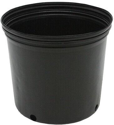 NURSERY POTS 3 GALLON Outdoor Vegetable Flower Plant Plastic Pot Garden 10 PACK](Cheap Flower Pots)