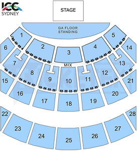 Ariana Grande Ticket B Reserve Middle Section Sat 9 Sept Show Sydney City Inner Sydney Preview