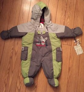 6 Months Baby Boy Snowsuit (Brand New With Tags)