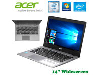 "POSS2DELIVER- NEW Boxed - Acer R Series - Win10 - 14"" - SSD - Warranty - 9 Hour Battery - Webcam"