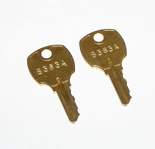 2 - B363A Keys fit Siemens Electrical Breaker Panel Panelboard Trim Locks
