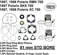 1997-1998 Polaris 700 XC RMK SKS 81 mm BORE SPI Moly