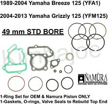 Yamaha Breeze 125 YFA1 & Grizzly YFM125 Listed 49 mm STD