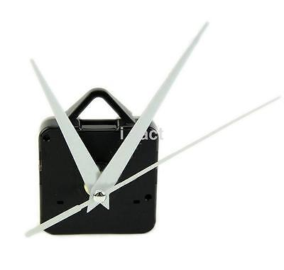 Clock Motor For Wall Clock Replacement Movement Parts White Hands Tool Kit CA