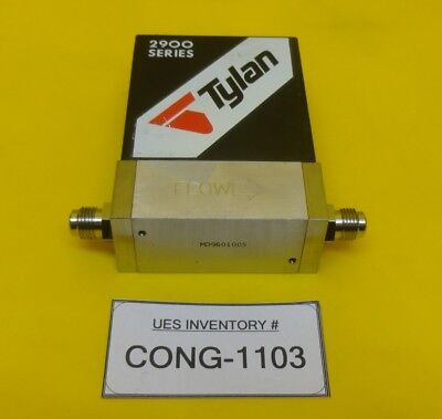 Tylan Fc-2960mep5 Mass Flow Controller Mfc 2900 Series 20 Slpm N2 Used Working