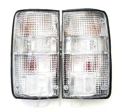 FIT 90-94 TOYOTA HILUX PICKUP MK3 LN RN YN 2 4WD TAIL REAR LAMP LIGHT CLEAR comprar usado  Enviando para Brazil