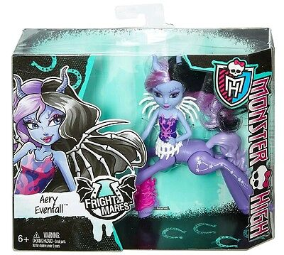 New Monster High School Fright Mares Aery Evenfall Doll Girls Dolls Fashion Toy