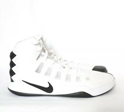 fcb773ec816b NEW Men s Nike Hyperdunk 2016 TB Basketball Shoes White Black size 18  844368 100