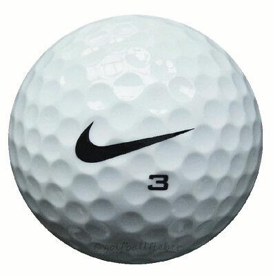 100 Nike Pd Soft Pelotas de Golf En Bolsa Malla Aa/ AAAA Lakeballs Usadas Bolas