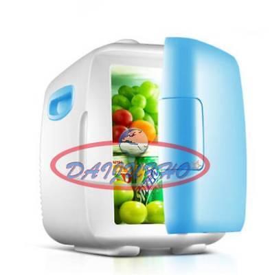 12L Office Kitchen Fridge blue vehicle-mounted Dorm Room Mini Refrigerator