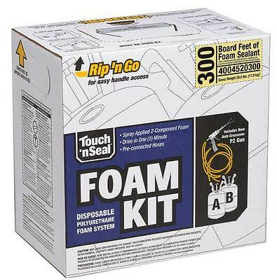 Touch N Seal 300 Bf Spray Foam Insulation Kit - Fire Retardant Open Cell