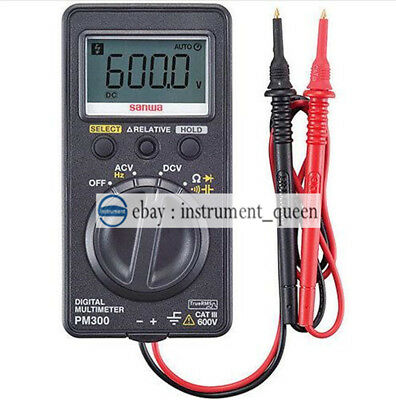 Digital Multimeters Ac True Rms Pocket Size Dmm Sanwa Pm-300 Pm300