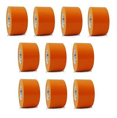 10 Rolls Orange Vinyl Pvc Electrical Tape 2 X 66 Flame Retardant Free Shipping