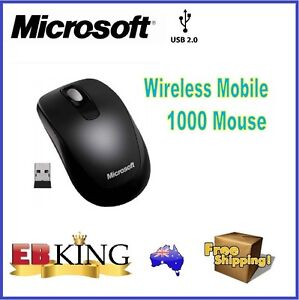 MICROSOFT WIRELESS MOBILE 1000 OPTICAL MOUSE NANO USB RECEIVER