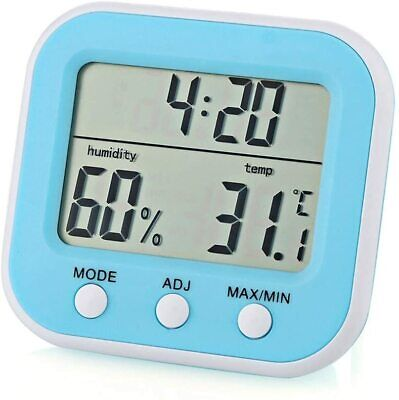 Digital Electronic Thermo Hygrometer High Precision Indoor Thermometer Mini Wi