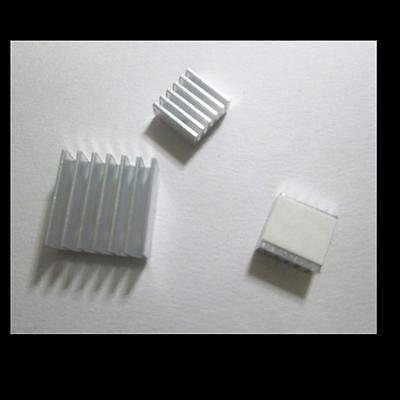 3x Kühlkörper Kühler Cooling Kit Bundle für Raspberry Pi & 2 A & B B+ & Pi 3