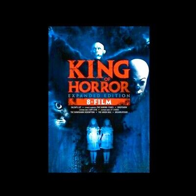 King of Horror: Expanded Edition 8 Film Collection (DVD, 2019)