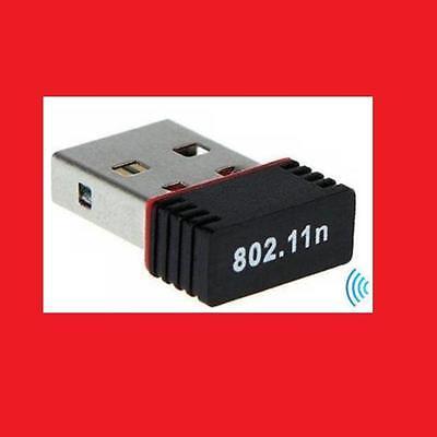 WLAN n/g 150 MB Mini USB 2.0 Stick + WIFI Antenne Adapter 802.11