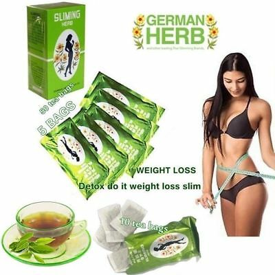 SLIMMING CHINESE GREEN TEA HERBAL BURN FAT DIET WEIGHT DETOX LOSS DRINK