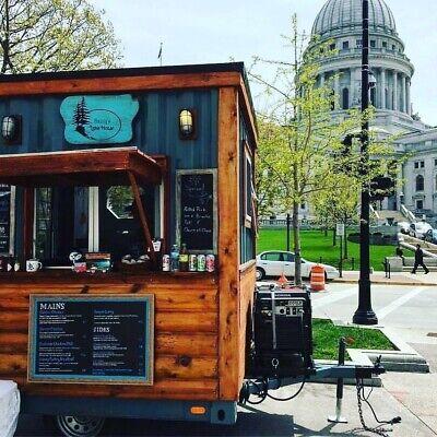 Custom Made Food Trailer - Concession Stand - Food Cart - Award-winning