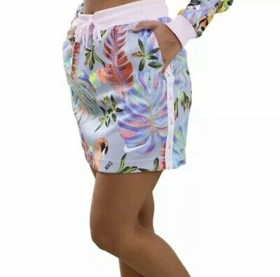 Nike Womens Floral Skirt AQ9732 632 Hyper Femme Tropical Hyperfllora Size Medium