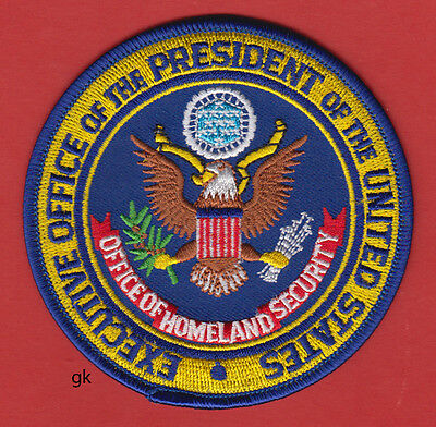 OFFICE OF. HOMELAND SECURITY  PRESIDENTIAL SEAL SHOULDER PATCH