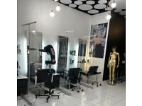 Hairdressing chairs to rent in Rotherham's town centre