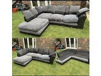 corner grey reversible sofa can be delivered