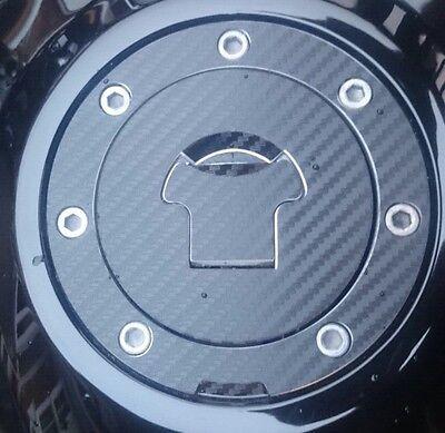 Honda CBR 600 RR Carbon Look Fuel Cap Pad Sticker Fits Multiple Models